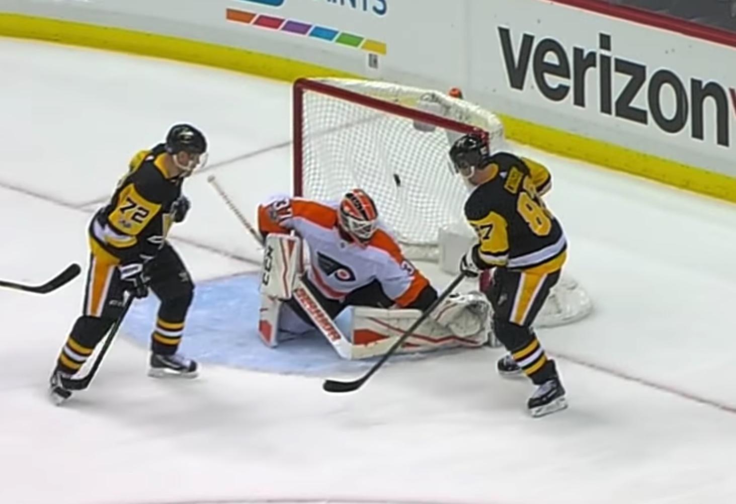 Video: Penguinsilla tuttu ratkaisija - Crosby hirmuiskussa | Laitataklaus.com