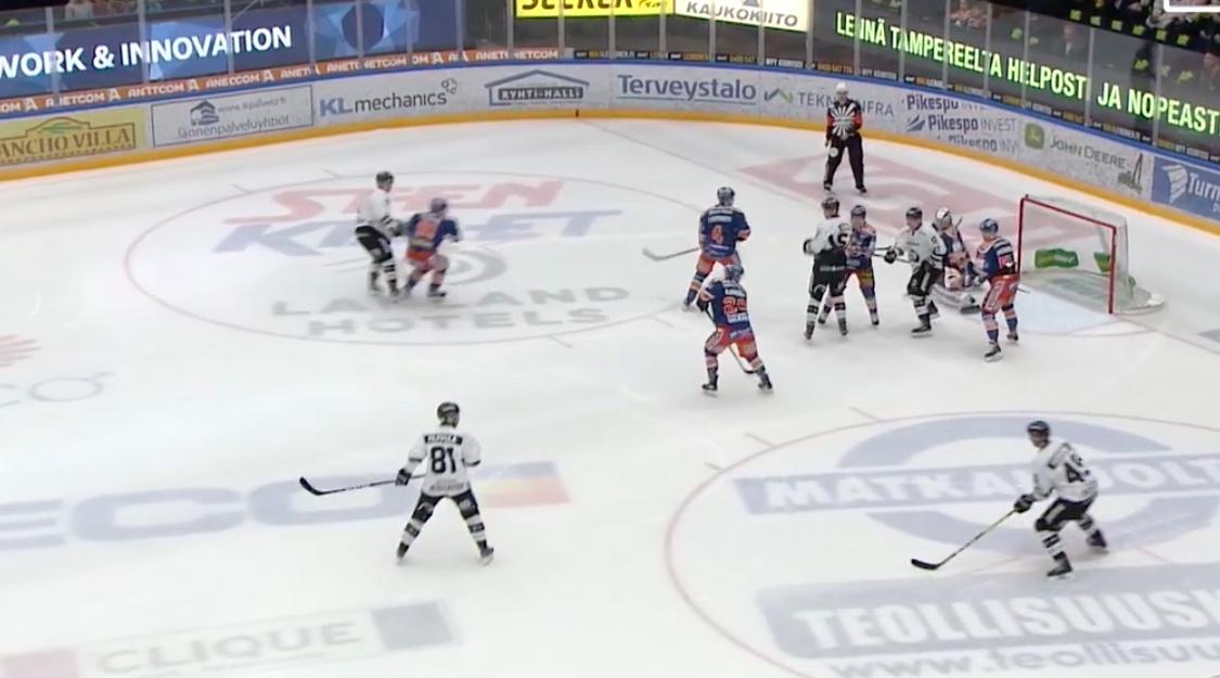 Video: Filppula ja Juolevi syöttelivät upean osuman - Juoleville 0+3 | Laitataklaus.com
