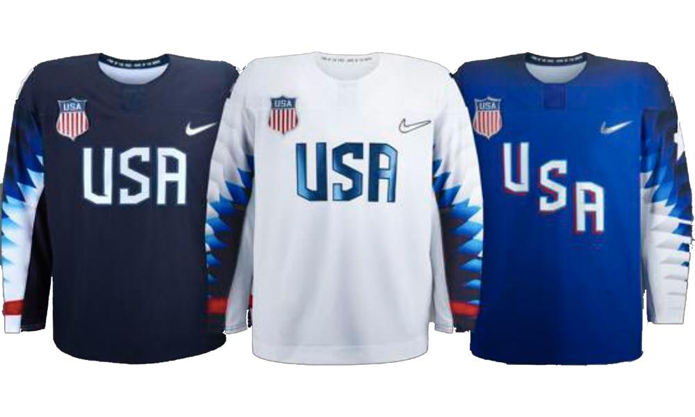 Yhdysvallat ja Kanada julkaisivat talviolympialaisten pelipaidat