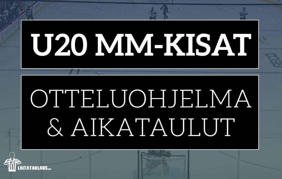 U20 Mm Kisat 2021 Otteluohjelma