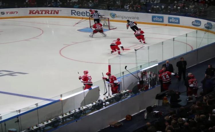 Suomessa nähtiin NHL-kiekkoa kolmena vuotena putkeen (2009-2011).