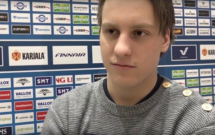 Eeli Tolvanen Suomen joukkueesta: