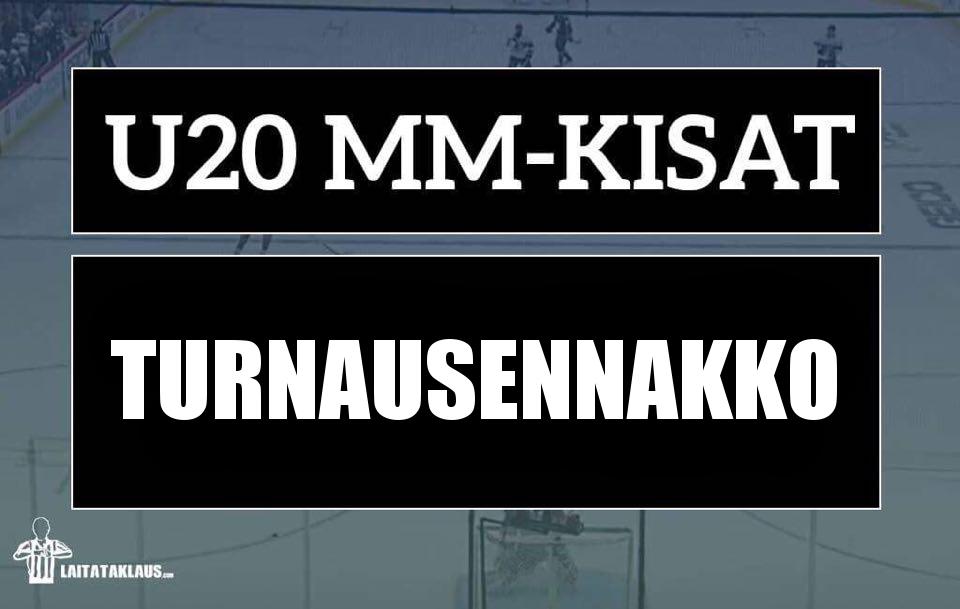 Suomi lukeutuu alle 20-vuotiaiden MM-kisojen ennakkosuosikkeihin.
