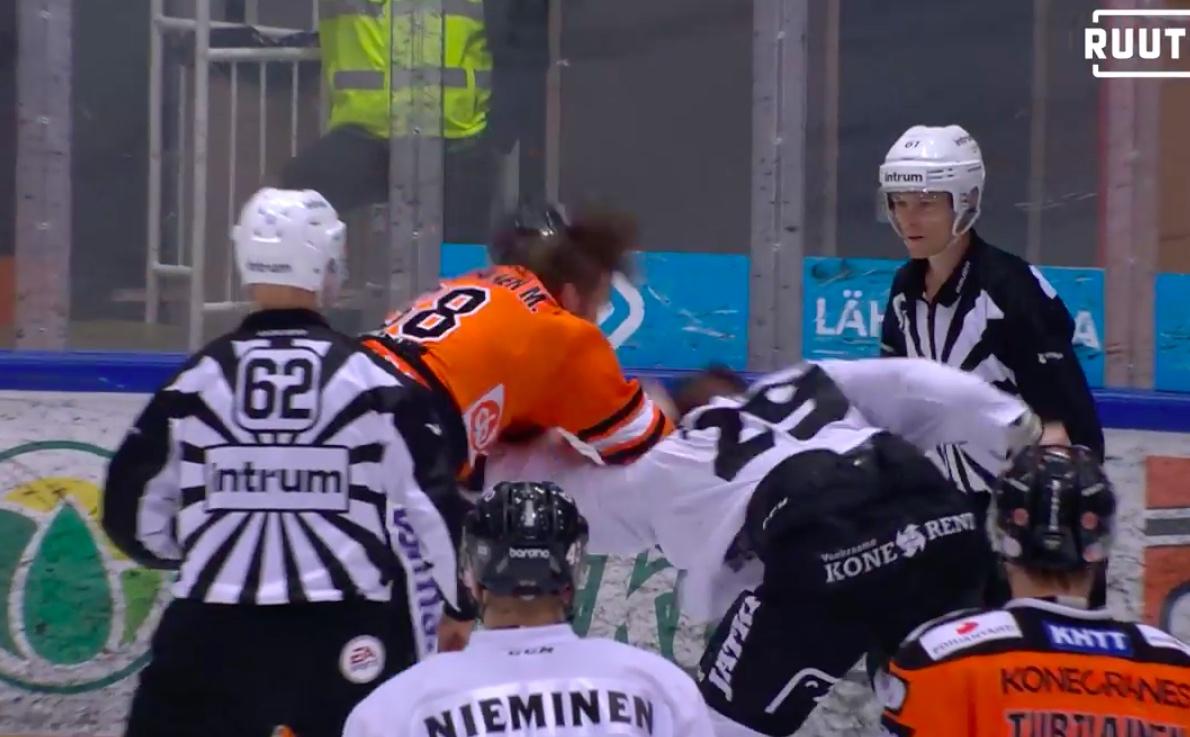Liiga määräsi Miro Karjalaiselle ja Jonne Virtaselle pelikieltoa tappelusta
