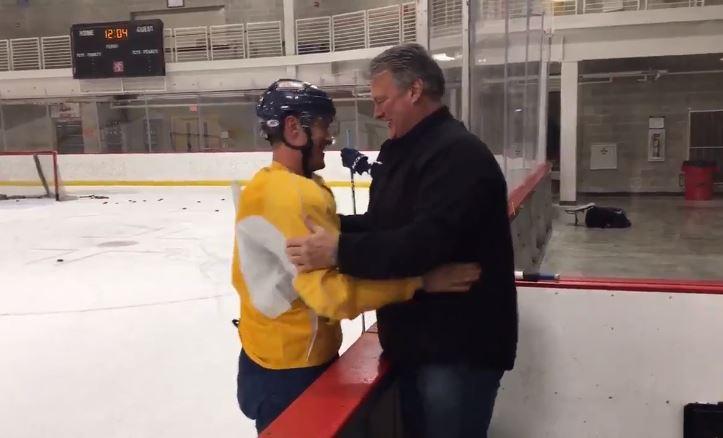 VIDEO: Bobby Butler kertoi isälleen olympiavalinnasta - herkisti isän täysin