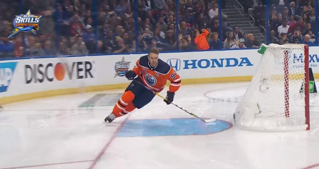 VIDEO: Connor McDavid NHL:n nopein luistelija toista vuotta putkeen