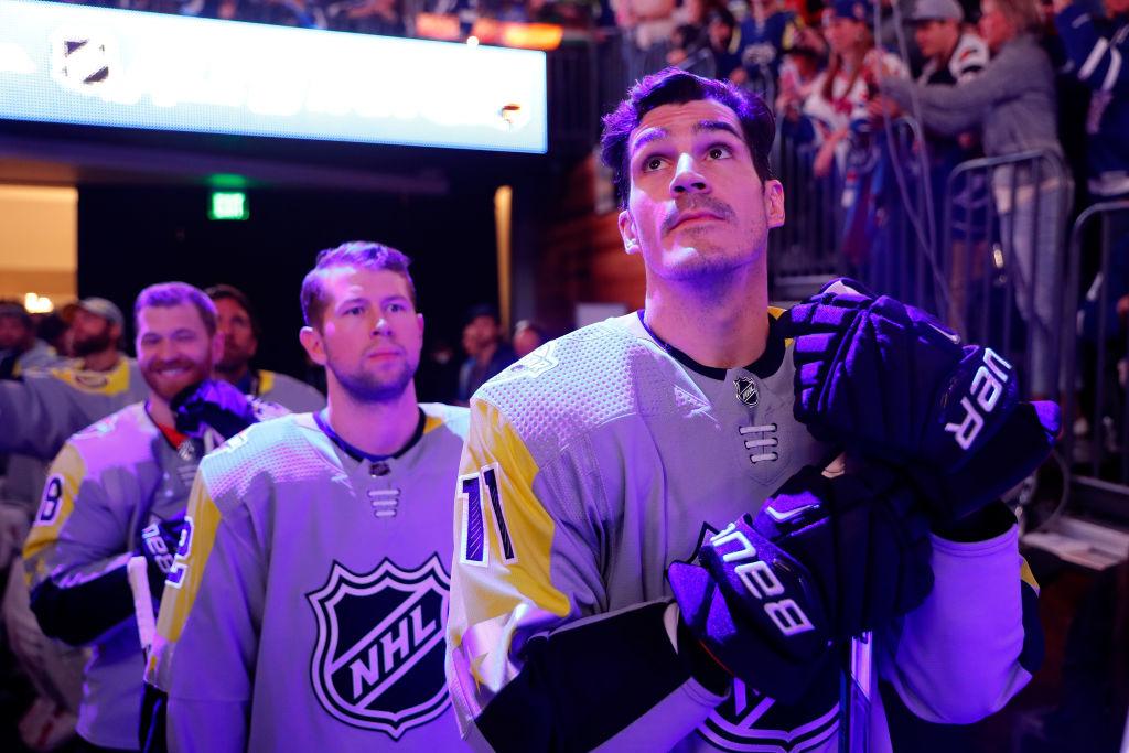 Brian Boyle varasti päähuomion NHL:n All Star -tapahtumassa.