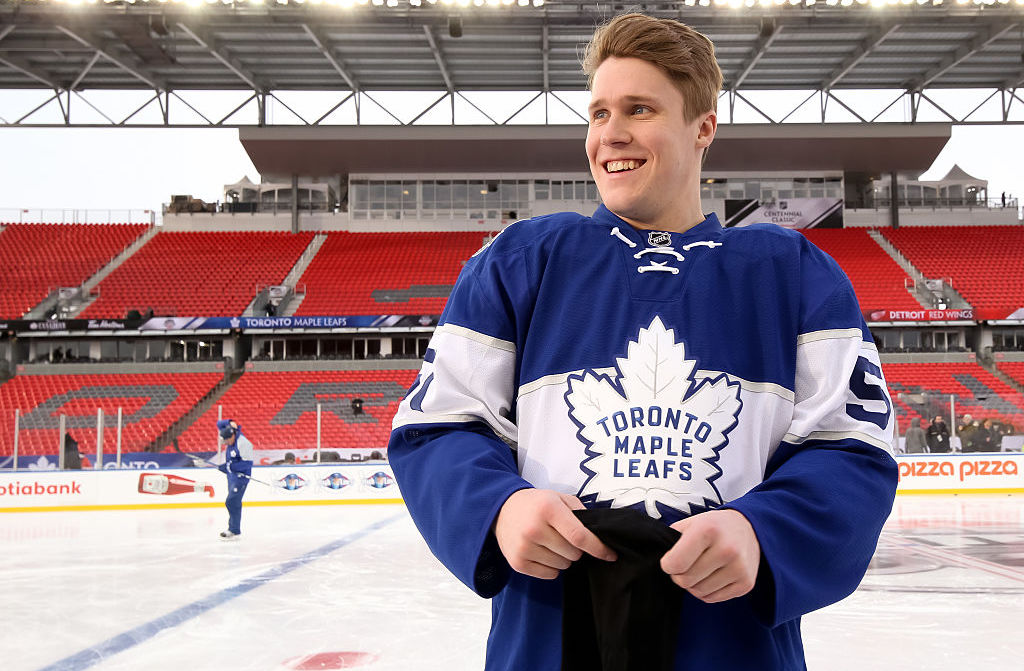 NBC:n olympiapromo meni pieleen, kun Jake Gardiner sekoitettiin Blake Kesseliin.