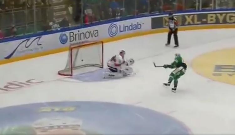 Juhamatti Aaltonen iski avauserässä ensimmäisten 12 peliminuutin aikana kolme maalia.