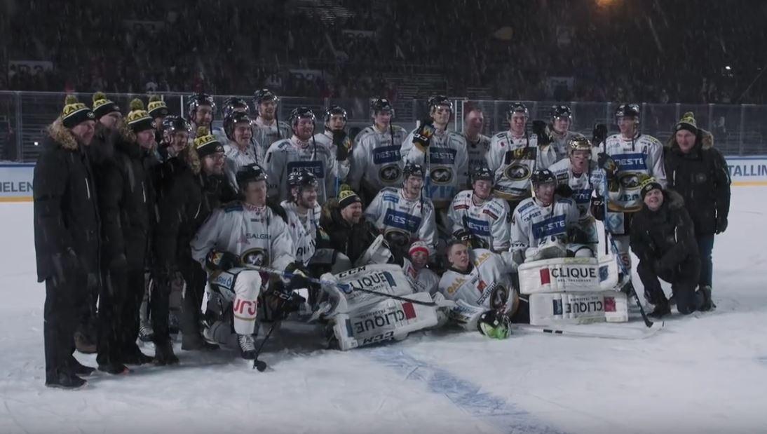 VIDEO: Kärpät julkaisi dokumentin Helsinki Ice Challenge -tapahtumasta
