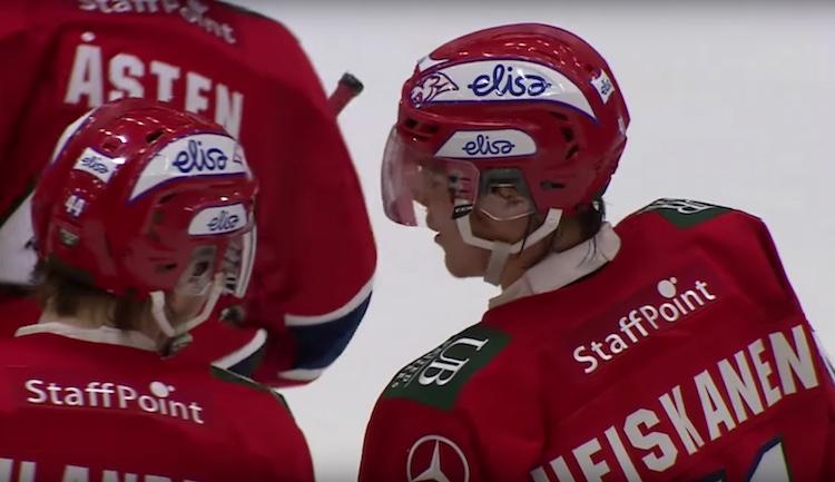 Miro Heiskanen pelasi Buffalossa järjestetyt Nuorten MM-kisat loukkaantuneena.