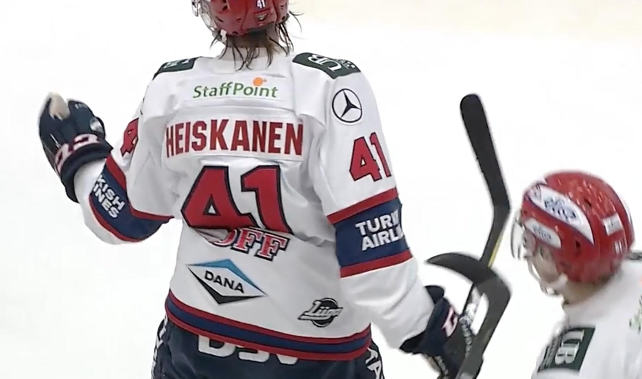 IL: Miro Heiskaselle kaavaillaan suurta roolia NHL:ssä -