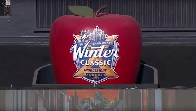 NHL:n Winter Classic -ottelu, vuosimallia 2018, järjestettiin baseball-seura New York Metsin kotistadionilla.