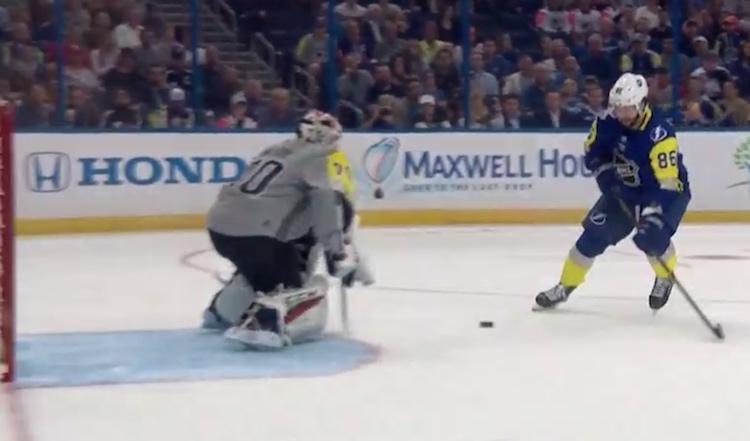 Nikita Kucherov tunnetaan yhtenä NHL:n ovelimmista pelaajista.