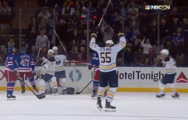 VIDEO: Rasmus Ristolainen tykitti viivapommin New York Rangersin uuniin