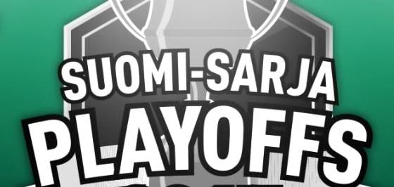 Suomi-Sarjan playoffseissa ei pelata lainkaan finaaleita.