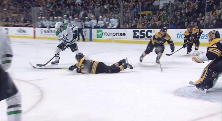 Tyler Seguin näytti NHL:n Prime time -ottelussa, mitä Boston Bruins menetti hänet kaupatessaan.