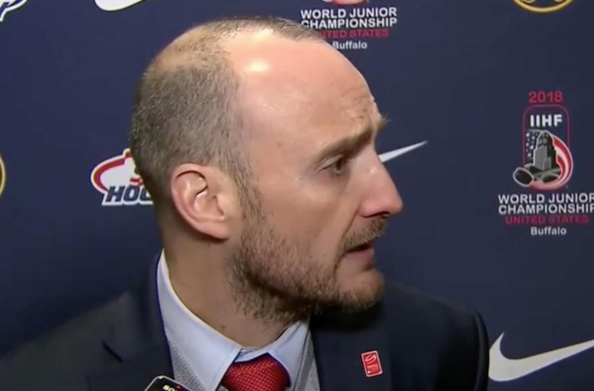 Sveitsin päävalmentaja Christian Wohlwend ei usko Sveitsin mahdollisuuksiin Kanadaa vastaan nuorten MM-kisojen puolivälierässä