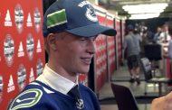 VIDEO: Elias Pettersson ihastuttaa länsinaapurissa - kieltäytyi kesällä NHL-sopimuksesta