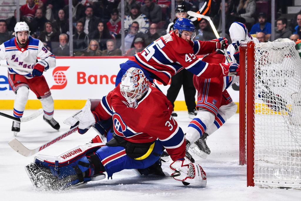 Antti Niemen vahvat otteet Montreal Canadiensin maalilla saivat jatkoa.