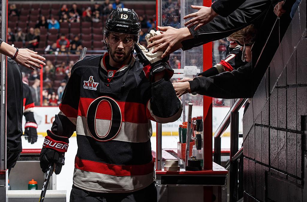 Ottawa Senators jatkoi tyhjennystään, kun Derick Brassard kaupattiin Pittsburghiin.