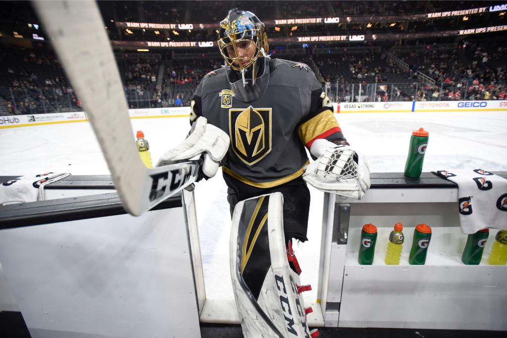 Marc-Andre Fleury on ollut Vegasille jättimäisen tärkeä pelaaja.