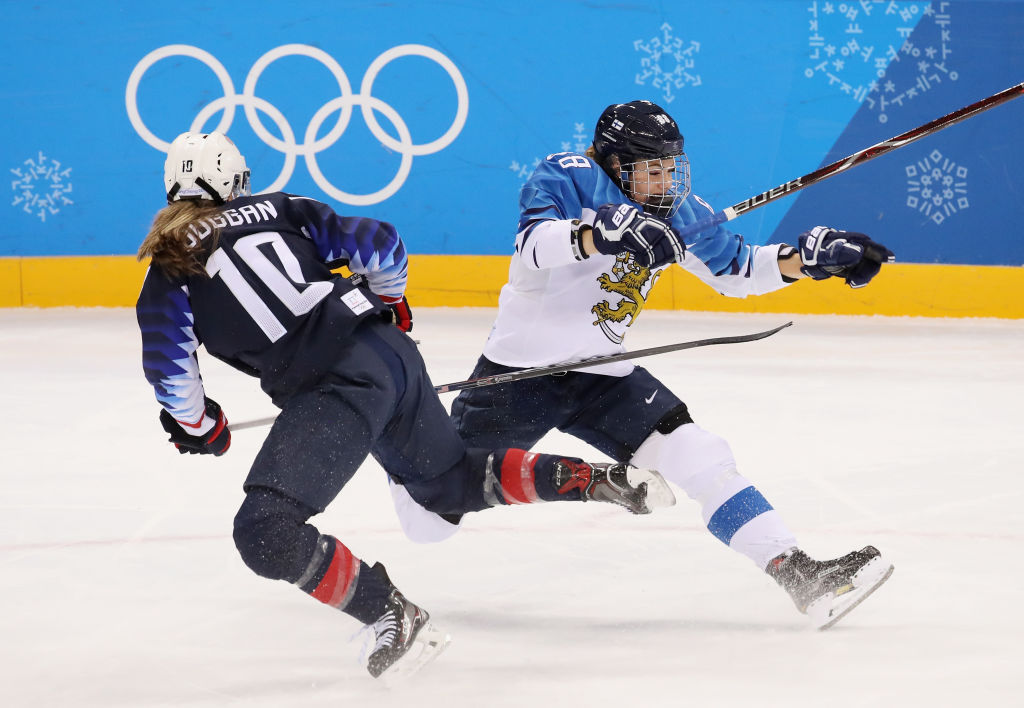 Naisleijonat ei kyennyt haastamaan Yhdysvaltoja taistelussa paikasta olympiafinaalissa.