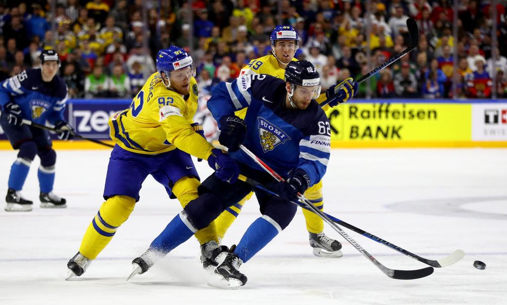 Oskar Osala pääsee tekemään olympiadebyyttinsä Etelä-Koreaa vastaan.