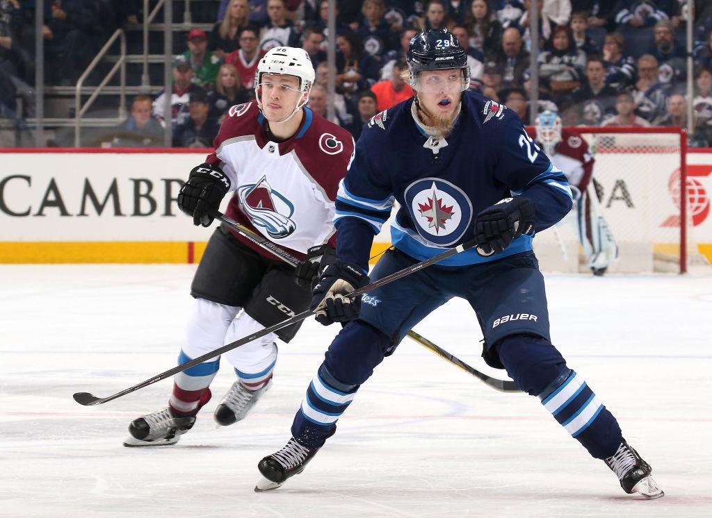 Patrik Laine johtaa NHL:n maalipörssiä ylivoimaosumien osalta.