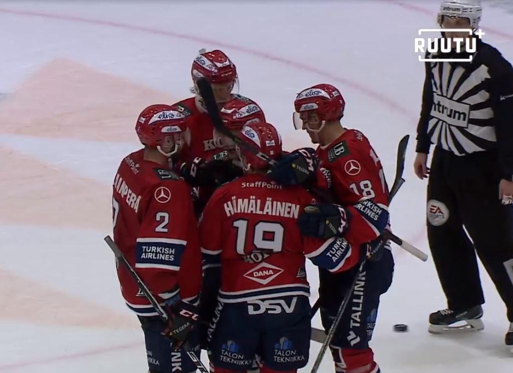 VIDEO: HIFK löylytti totaalisesti Jukureita - Teemu Eronen palasi terävänä