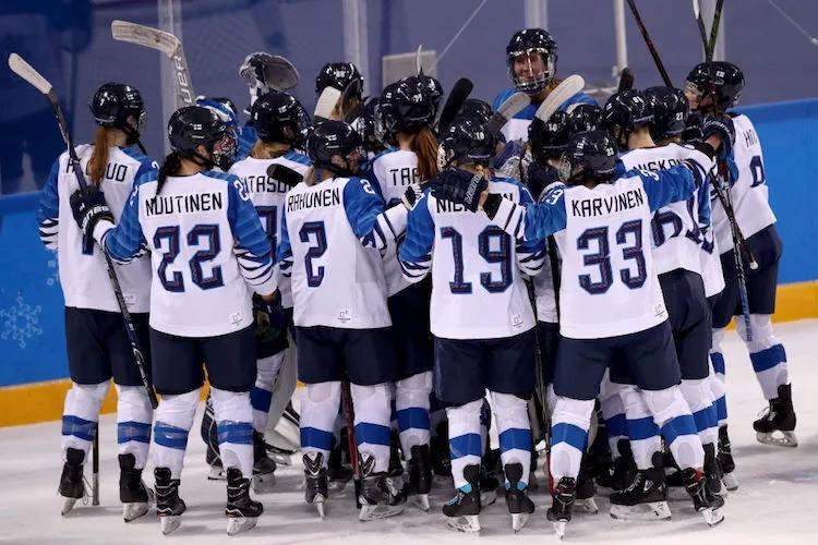 Suomen Naisleijonat nappasi itselleen olympiapronssin.