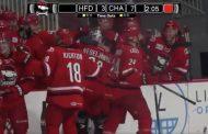 VIDEO: Tätä et näe joka päivä - AHL-maalivahti teki maalin!