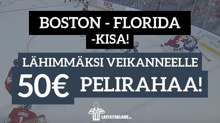 NHL Prime Time -KISA! Lähimmäksi veikanneelle 50€ pelirahaa
