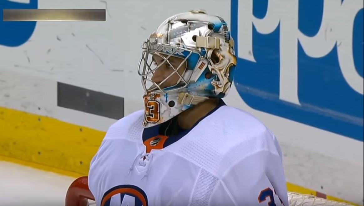 Suomalaismaalivahti Christopher Gibson jatkaa NHL:ssä.