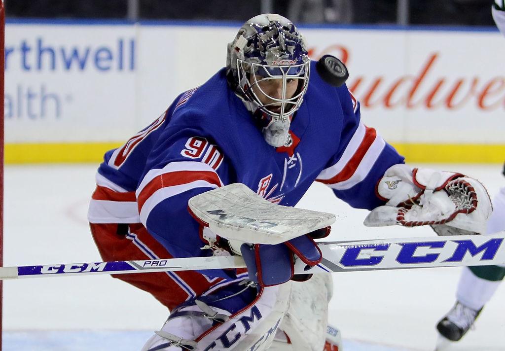 Suomalaisille erittäin tuttu Alexandar Georgiev torjui NHL-uransa avausvoiton.