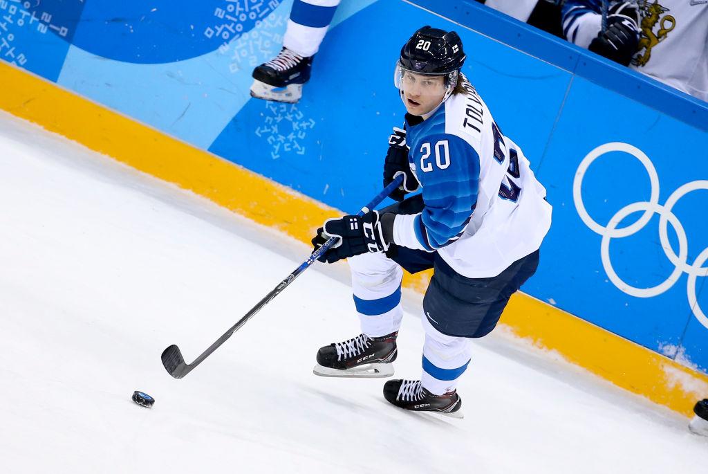 Suomen ketjut Kanada-peliin on julkaistu ja Eeli Tolvanen löytyy kolmosketjusta.