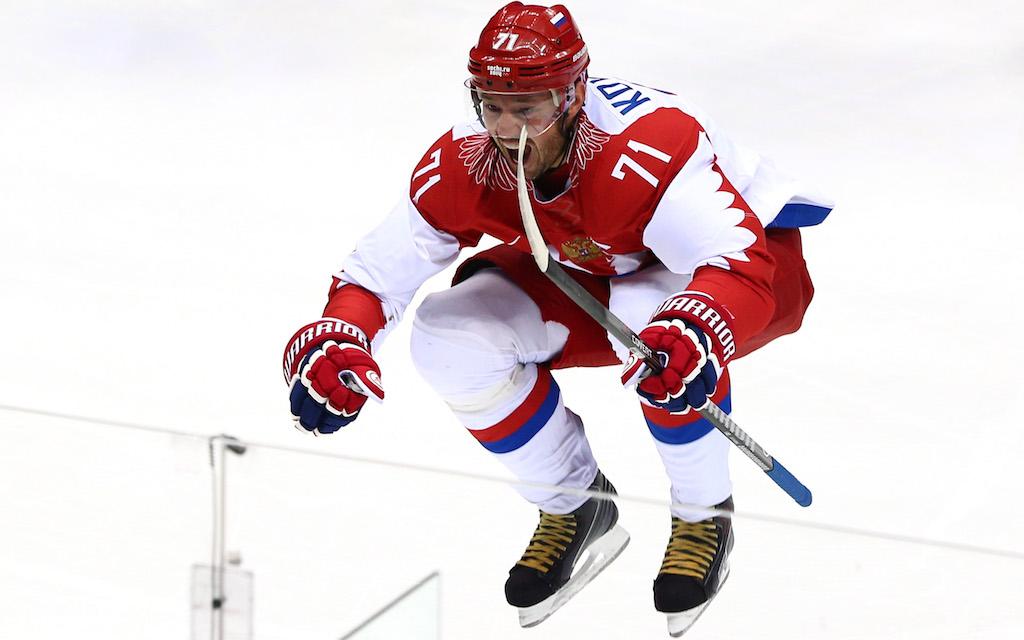 Ilya Kovalchuk janoaa pääsyä niin sanottuun kolmen kullan klubiin.