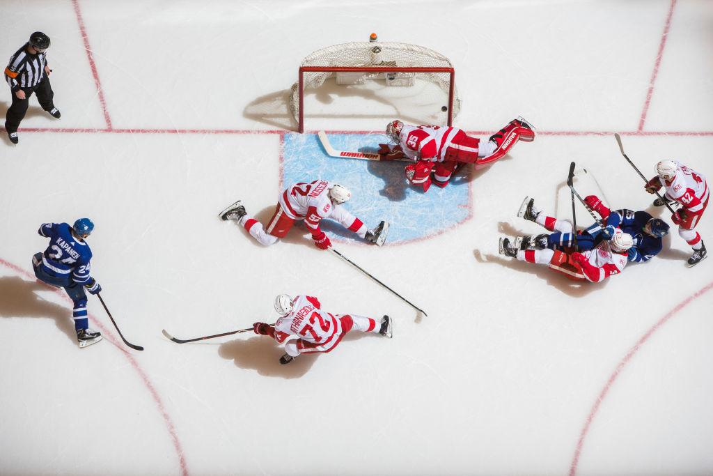 Toronto Maple Leafsin Kasperi Kapanen iski kauden seitsemännen maalinsa upeasta syötöstä.