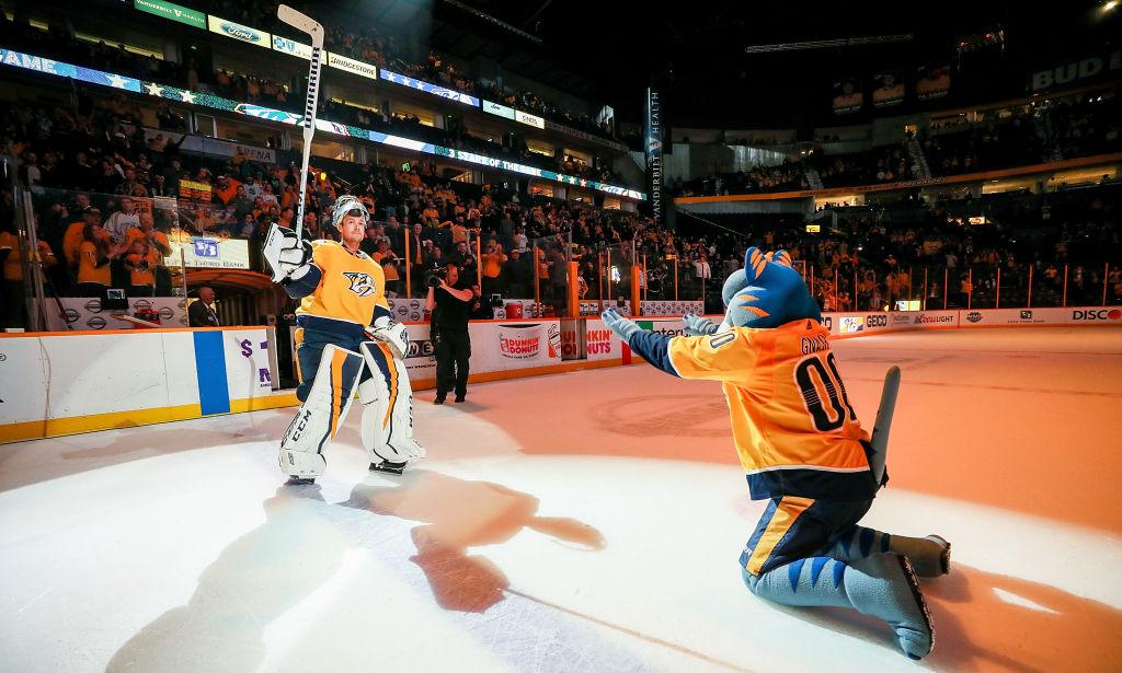 Nashville Predatorsin Pekka Rinteeltä nähtiin jo kuluvan kauden kahdeksas nollapeli.