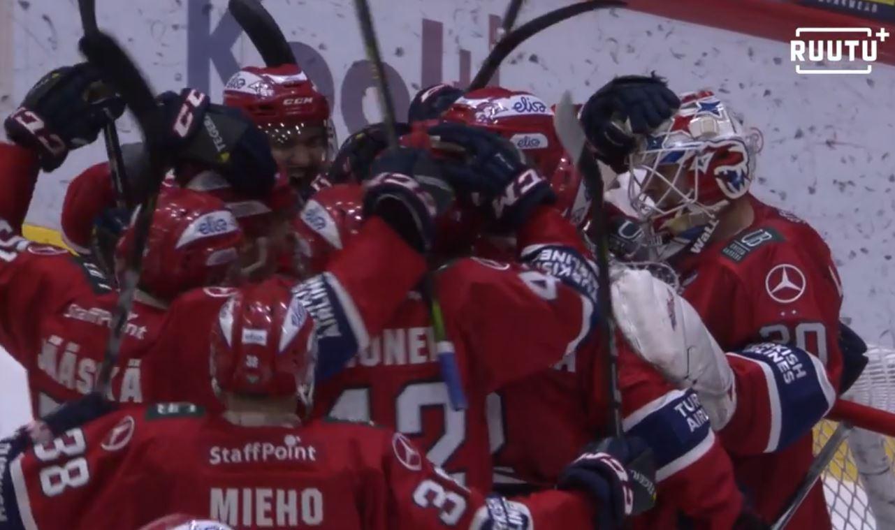 HIFK, TPS ja Tappara jatkoon pudotuspeleissä - Liigan välieräparit selvillä!