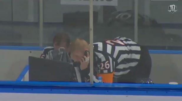 VIDEO: KHL:ssä jälleen tuomarifarssi - Severstalin maali hylättiin vaihtovirheenä