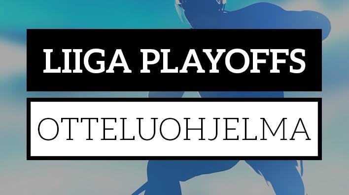 Liiga Pudotuspelit 2018 otteluohjelma nyt Laitataklaus.com:ssa.