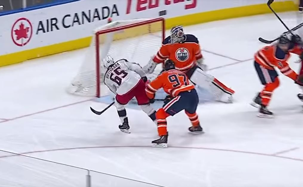 VIDEO: Markus Nutivaara upotti Edmontonin nuottaan kauden 6. täysosumansa