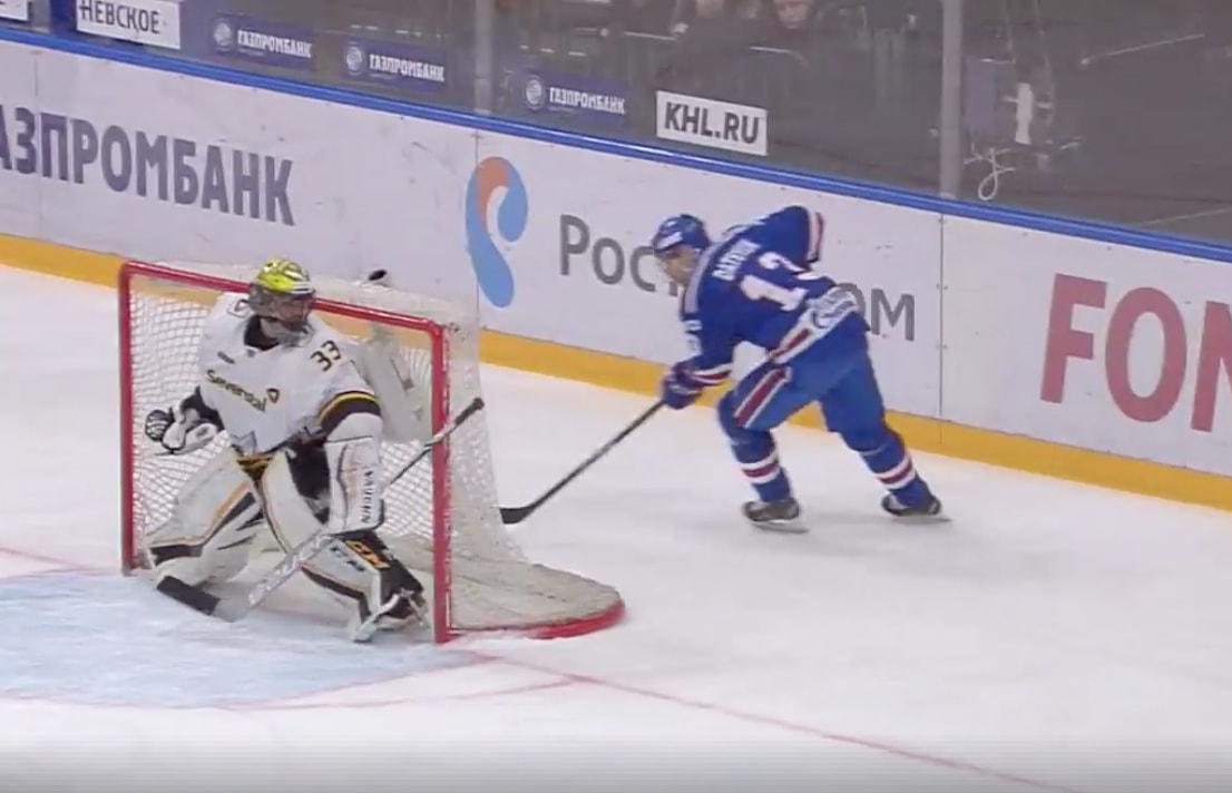 Pavel Datsyuk iski KHL:n pudotuspeleissä komean jatkoerämaalin.