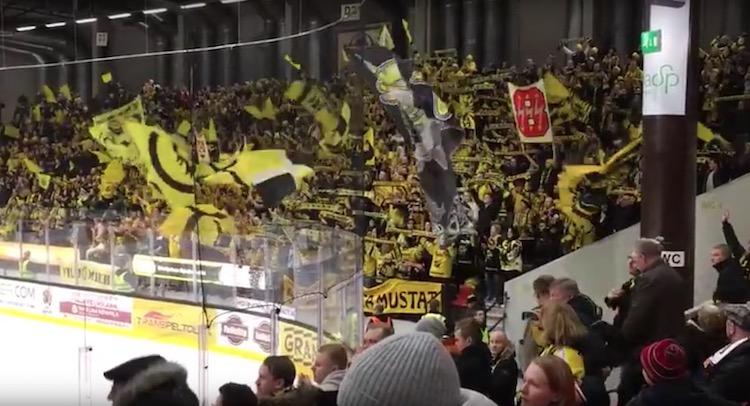SaiPa-fanit tekivät jotain uskomatonta viimeisen TPS-ottelun jälkeen.