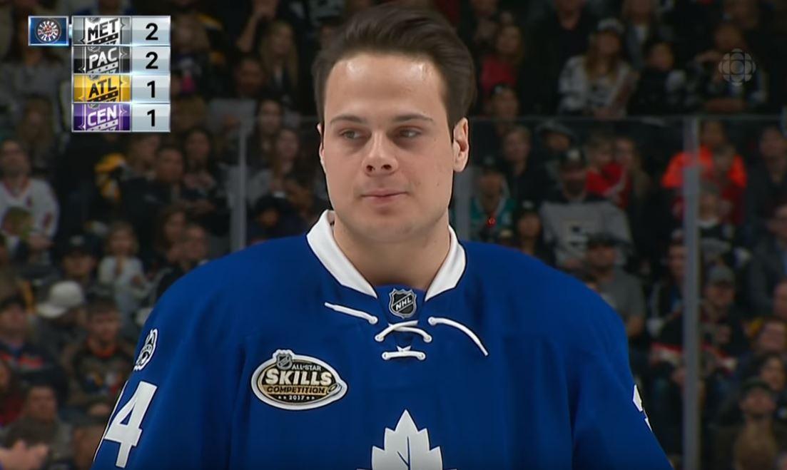 NHL:n myydyimmät pelipaidat julki - Auston Matthews nousi ykköseksi