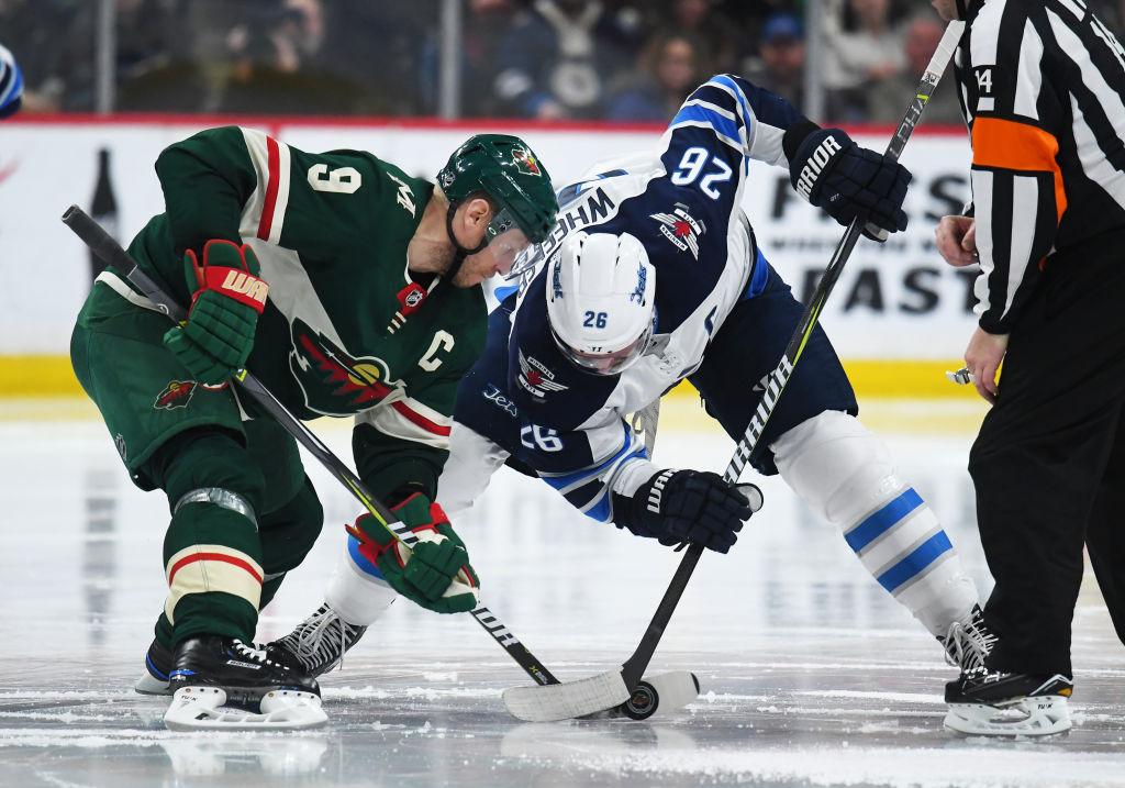 Vetovihjeet ja ottelusarjaennakko: Winnipeg Jets vs. Minnesota Wild.