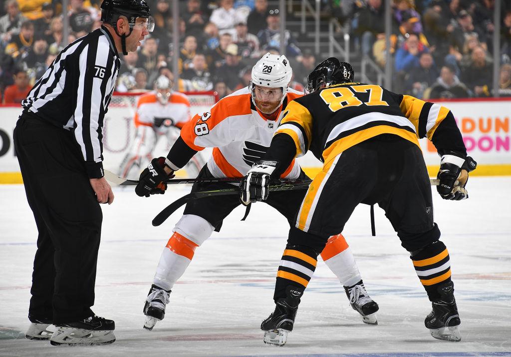 Vetovihjeet ja ottelusarjaennakko: Pittsburgh Penguins vs. Philadelphia Flyers.