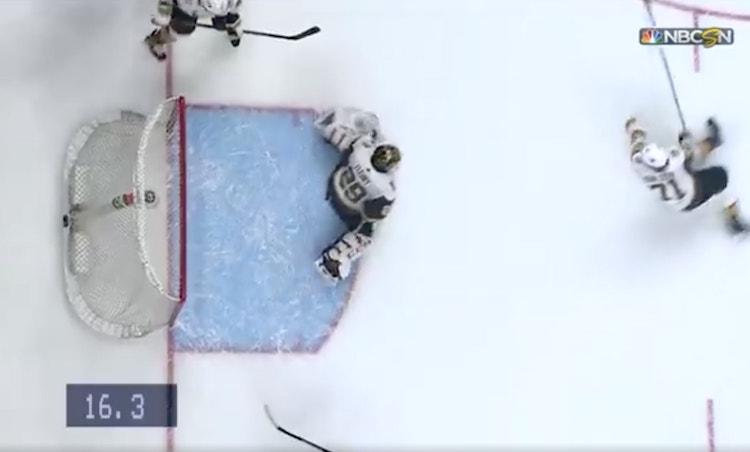 VIDEO: Marc-Andre Fleury pelasti Vegasin - peliä jäljellä vain 16 sekuntia