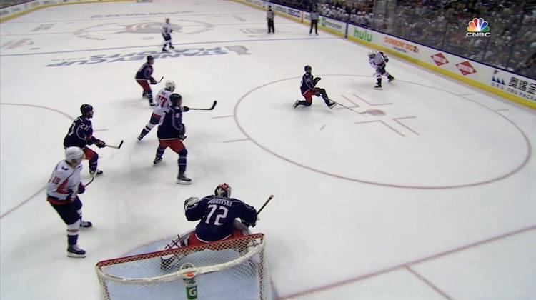 VIDEO: Ovechkin vs. Crosby toteutuu jälleen - Washington pudotti Columbuksen
